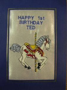 HAPPY BIRTHDAY - Caroousel Horse - Cards